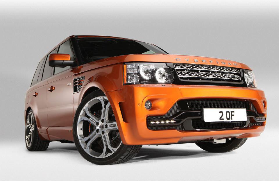Tuneři Overfinch udělali sportovní Range Rover Sport 3