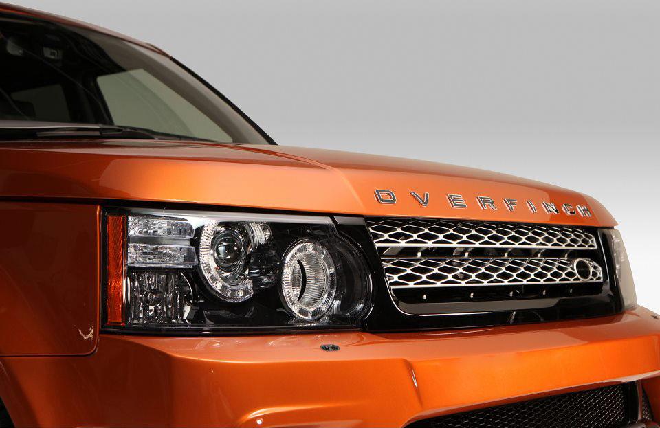 Tuneři Overfinch udělali sportovní Range Rover Sport 4