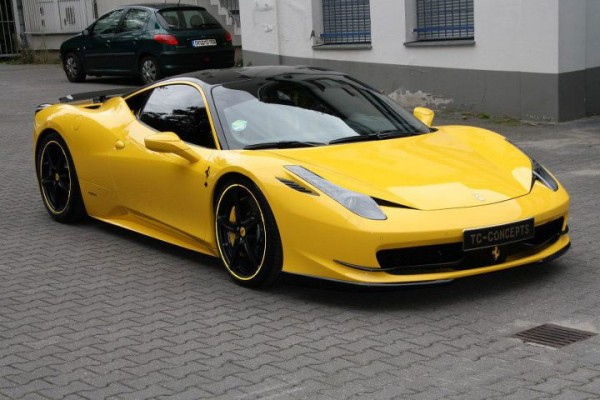 Ferrari 458 Italia jako General Consul od TC Concepts 1