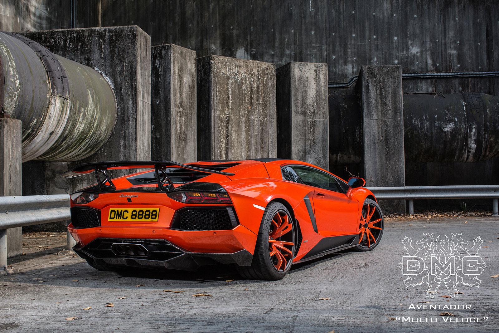 Lamborghini Aventador s výkonem 900 koní od DMC 10
