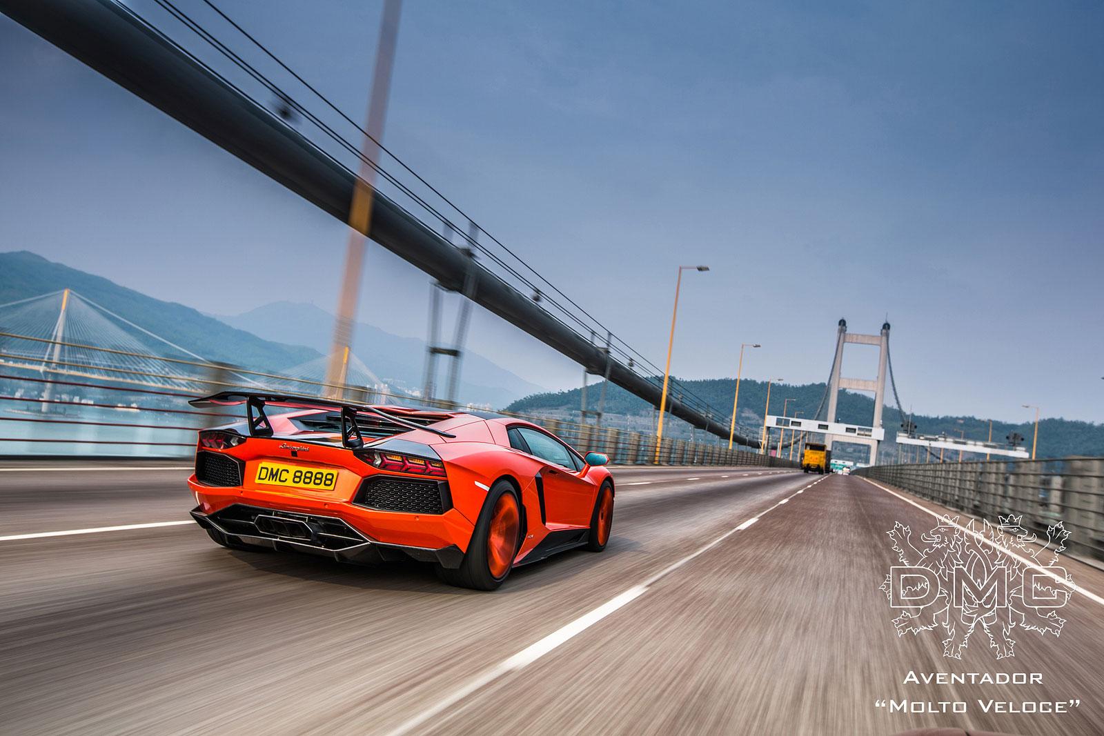 Lamborghini Aventador s výkonem 900 koní od DMC 2