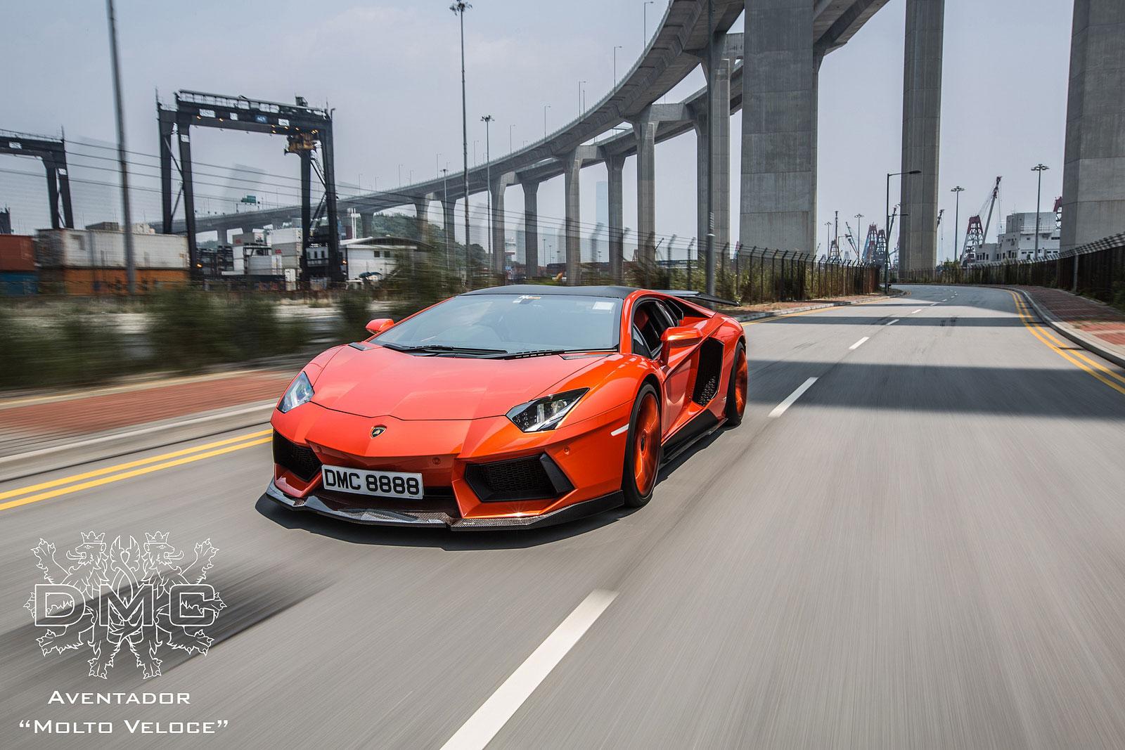 Lamborghini Aventador s výkonem 900 koní od DMC 4