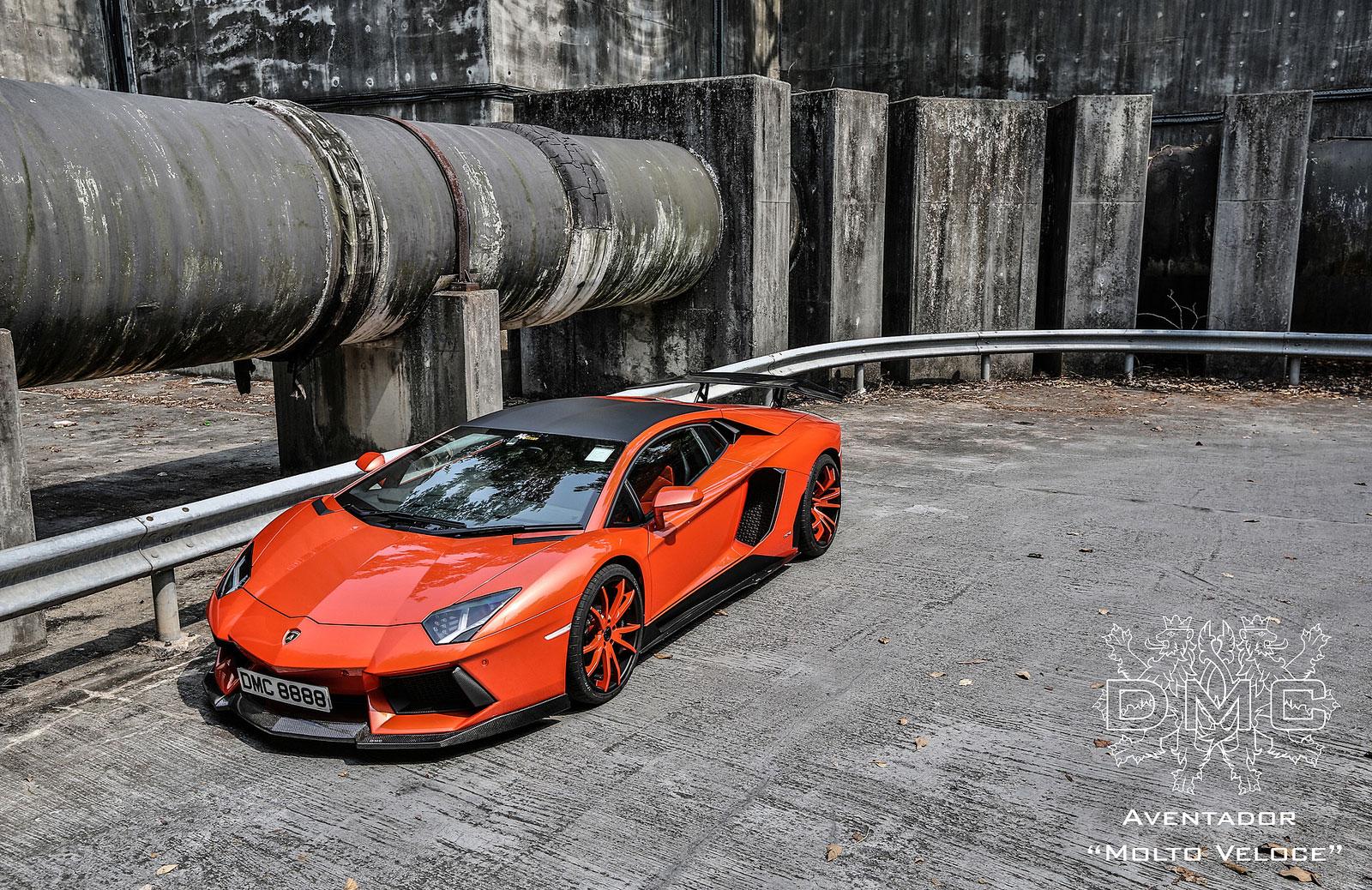 Lamborghini Aventador s výkonem 900 koní od DMC 5