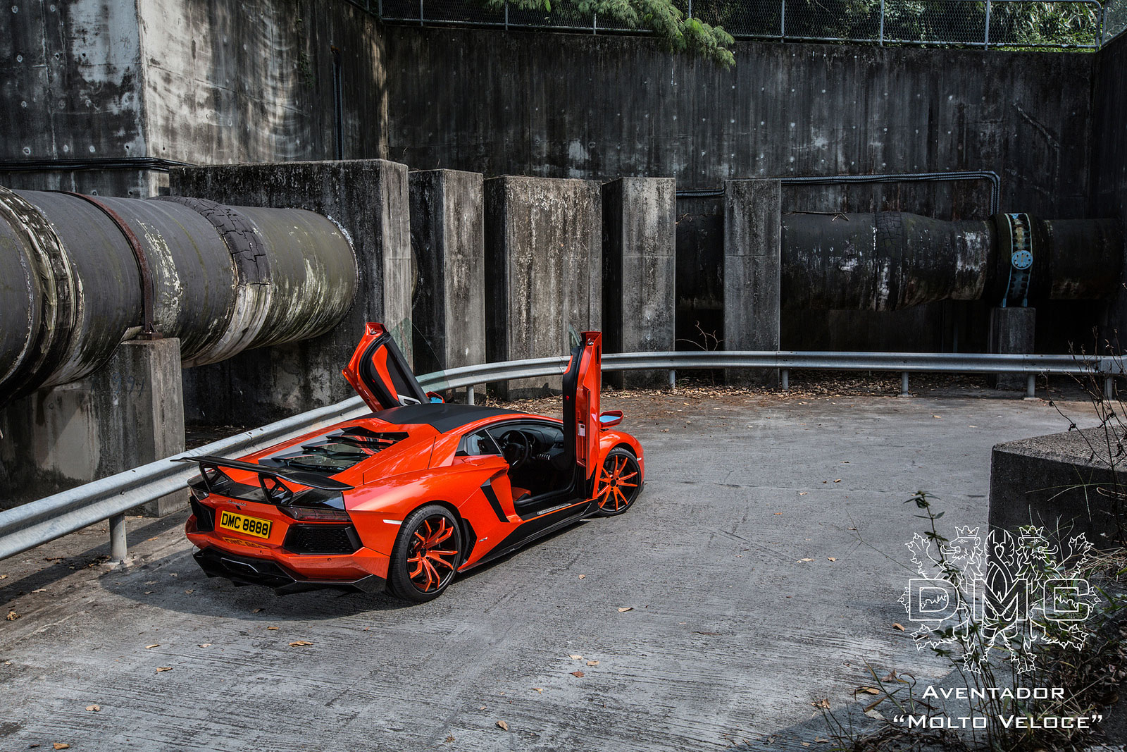Lamborghini Aventador s výkonem 900 koní od DMC 6