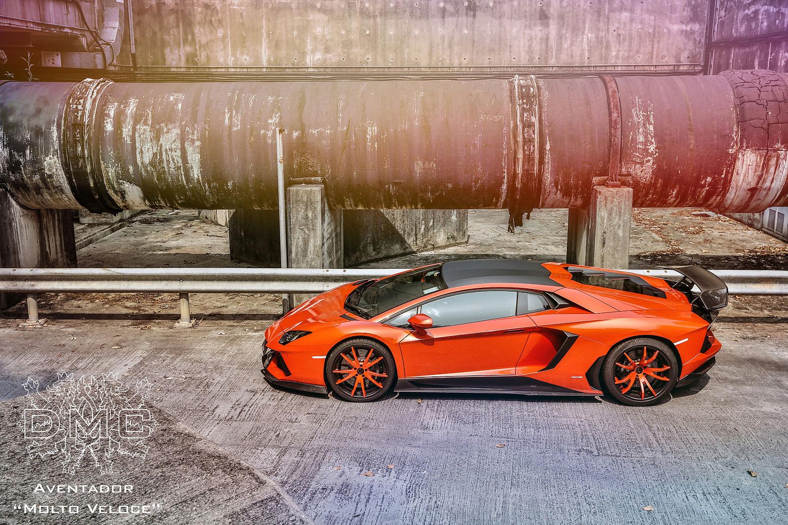 Lamborghini Aventador s výkonem 900 koní od DMC 7