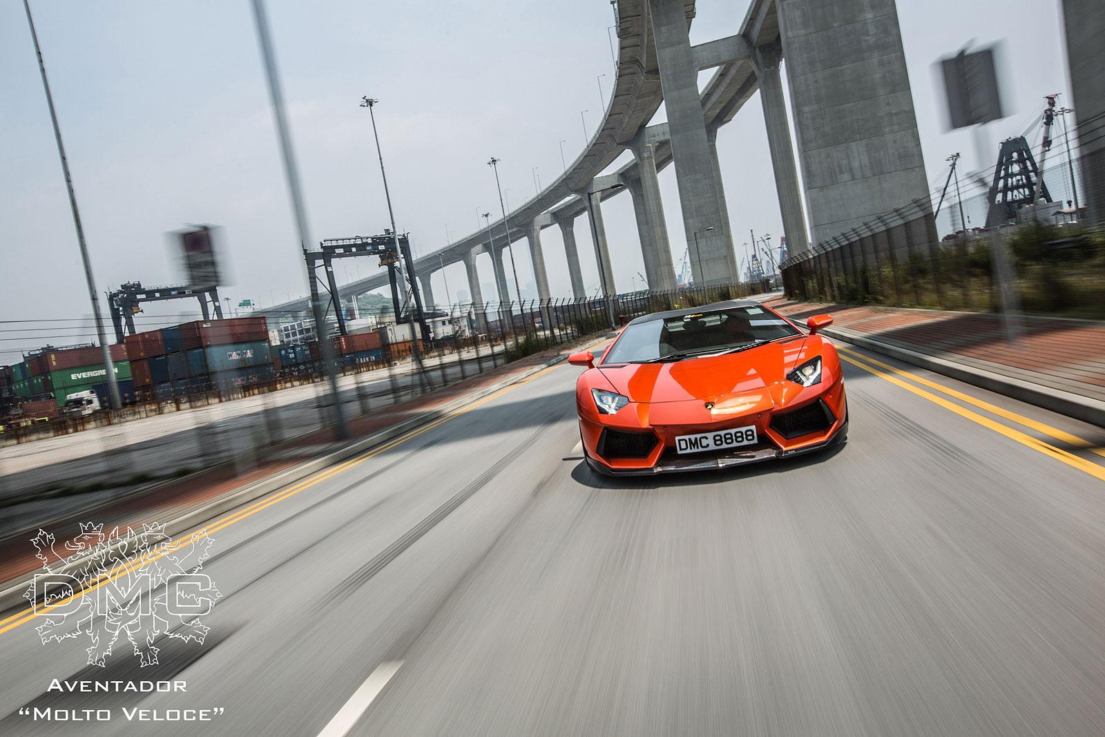 Lamborghini Aventador s výkonem 900 koní od DMC 8