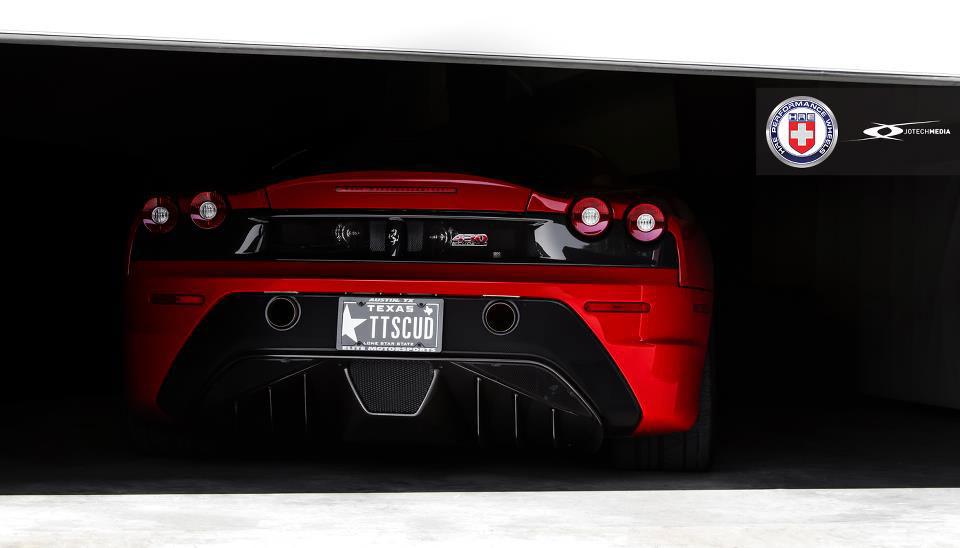 Našlapané Ferrari 430 Scuderia s výkonem přes 1000 koní 4