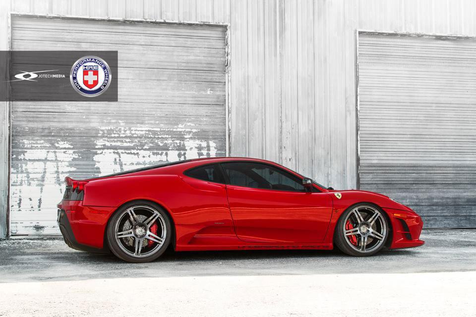 Našlapané Ferrari 430 Scuderia s výkonem přes 1000 koní 5
