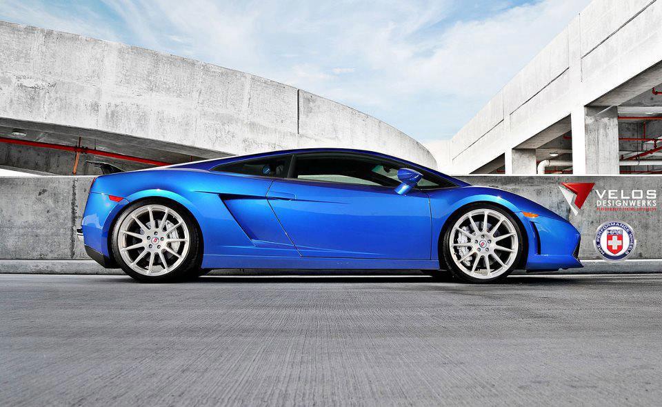 Povedené Lamborghini Gallardo přijíždí z USA 6