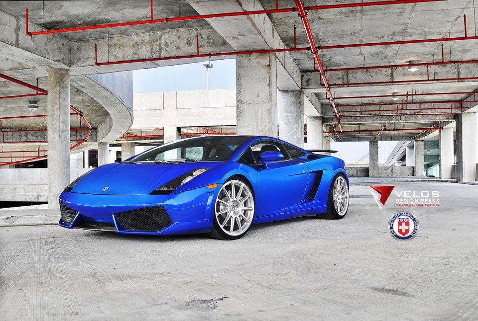 Povedené Lamborghini Gallardo přijíždí z USA 8