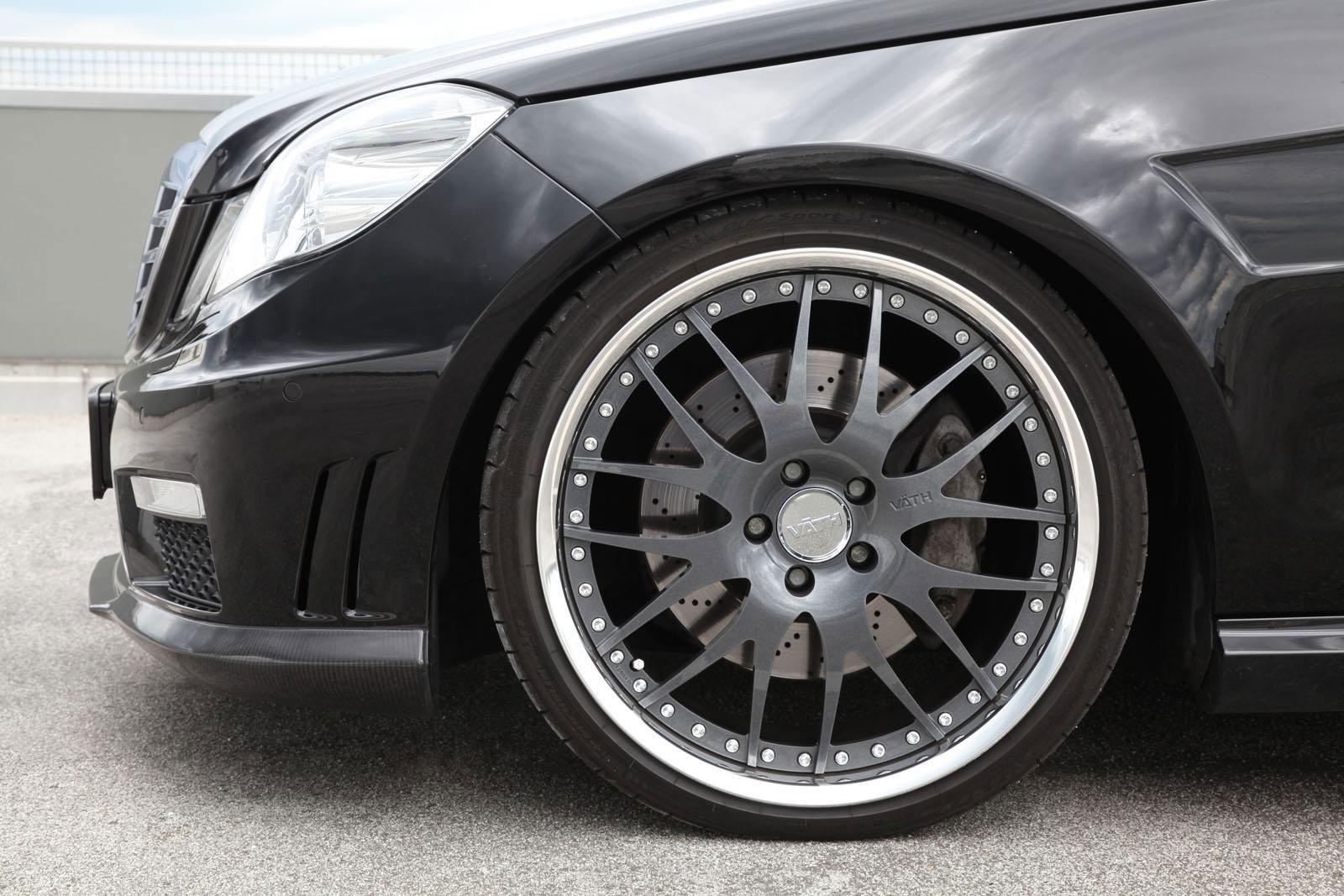 Tuneři Vath Automobiltechnik poladili Mercedes-Benz E-500 6