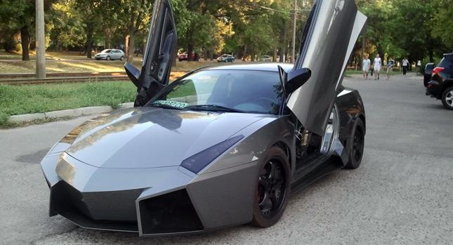 Ukrajinec si postavil vlastní Lamborghini Reventon 1