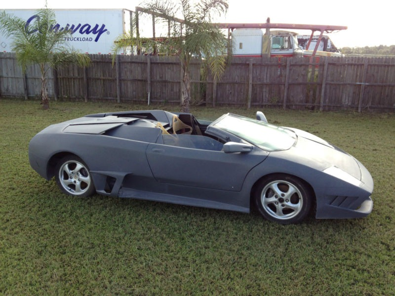Porsche Boxster předěláno na repliku Lamborghini Murcielaga 8