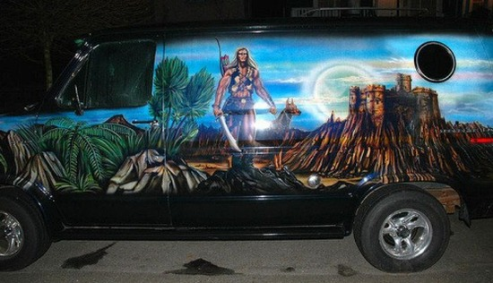 Top 10 vans airbrush for 9 11 mural van