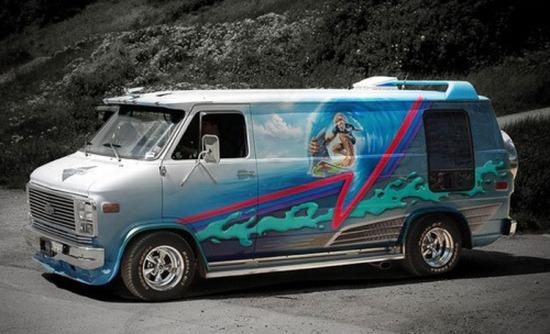 Top 10 Vans Airbrush