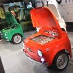 Lednice ve tvaru FIAT 500
