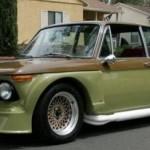 BMW 2002 s V8 od Mustanga je k maní na eBay