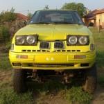 Mix mezi Toyotou, BMW a offroudem ARO
