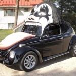 Volkswagen Brouk pro fandy KISSáků