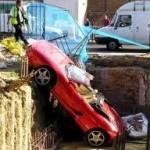 Zaparkované Ferrari