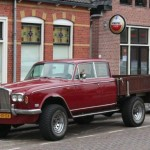 Rolls Royce Silver Shadow offroud Pick-Up
