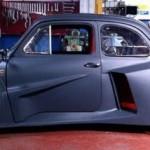 Fiat 500 s motorem z Lamborghini
