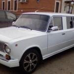 Lidové limuzíny v Rusku