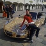 Šlapací Porsche 911 GT3 RS v měřítku 1:1 (celý postup výroby)
