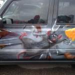 Rusky airbrushe na autech