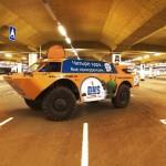 Vojenský transportér jako služební auto