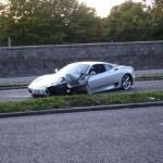 Nehoda Ferrari 360 Modena