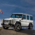 Arabské vozítko Mercedes-Benz G Arabia 100 pro náročné