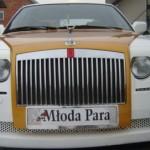 Replika Rolls-Royce Phantom postavená na BMW 750 (E32)