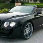Chrysler Sebring v převleku za Bentley Continental