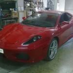 Replika Ferrari F430 na bázi Toyoty Celica