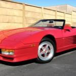 Sen konce 80. let – Replika Ferrari Testarossa na základě Corvetty C4