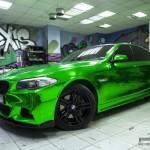 Jedinečně zbarvené BMW 5 z Ruska