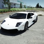 Lamborghini Murcielago LP670-4 SV jako Project White Wing