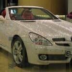 Mercedes-Benz SLK 200 poset Swarovski krystaly
