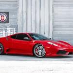 Našlapané Ferrari 430 Scuderia s výkonem přes 1000 koní