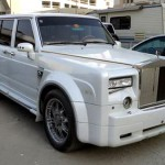 Nissan Patrol jako Rolls-Royce Phantom v dubajském stylu