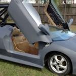 Porsche Boxster předěláno na repliku Lamborghini Murcielaga