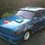 Renault R 12 v podobě modrého ďábla