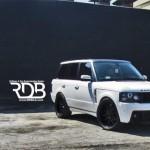 Vyšperkovaný Range Rover z Los Angeles