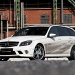 Superrychlé kombi Mercedes C63 AMG s maximálkou 340 km/h