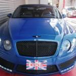 Velmi povedeně upravený Bentley Continental GT Convertible