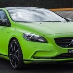 Volvo V40 T5 HPC: zelená střela s 350 koňmi