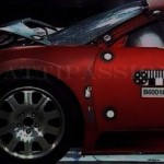 Crash test Bugatti Veyron (video)