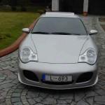 Opel Calibra přestavěn na Porsche 911 (996) Turbo