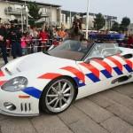 Spyker C8 Spyder pro holandskou policii